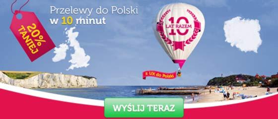 Przekaz w 10 minut do Polski