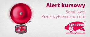 alert kurs funta GBP/PLN