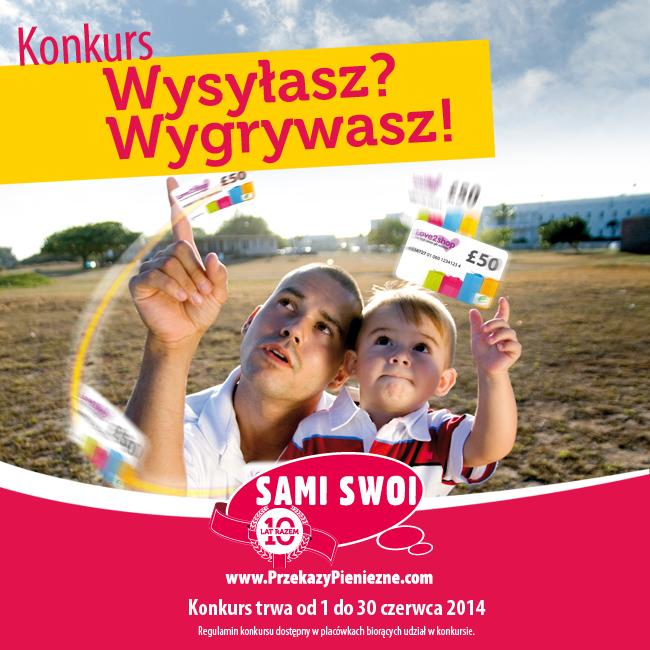 Wysyłasz… wygrywasz… czerwcowy  konkurs Sami Swoi