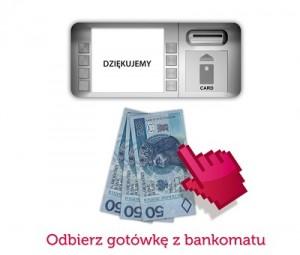 Przekaz w 10 minut do bankomatu w Sami Swoi