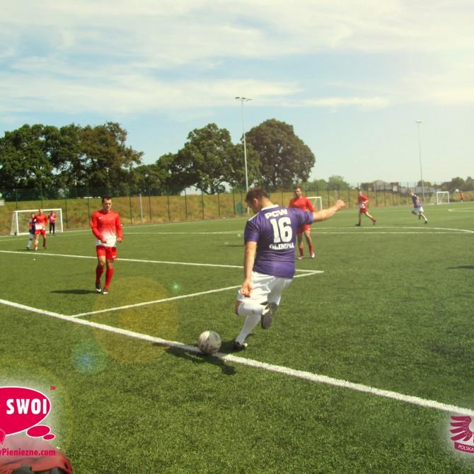 Piłkarska Liga Sami Swoi Przekazy Pieniężne - Londyn 2014