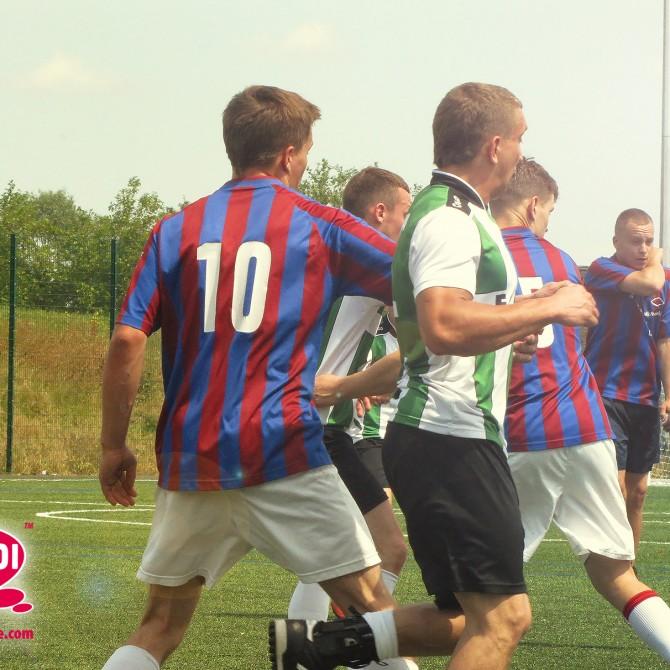 Podczas rozgrywek pucharowych Ligi Piłkarskich Piątek - Londyn 2014