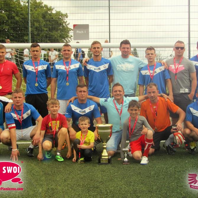 Drużyna the 12 Team - mistrzem Ligi Sami Swoi-czerwiec 2014