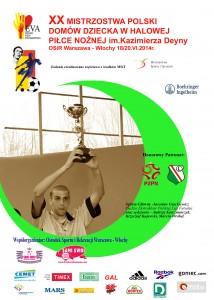 Truniej piłkarski Domów Dziecka 2014