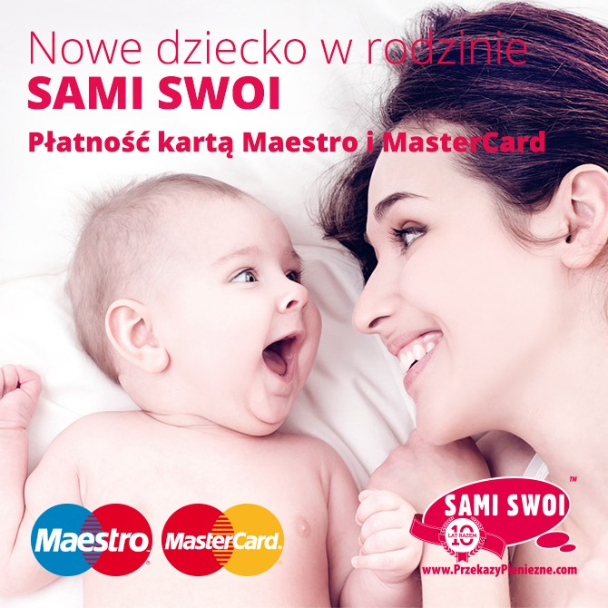 Sami Swoi z kartami debetowymi Mastercard i Maestro