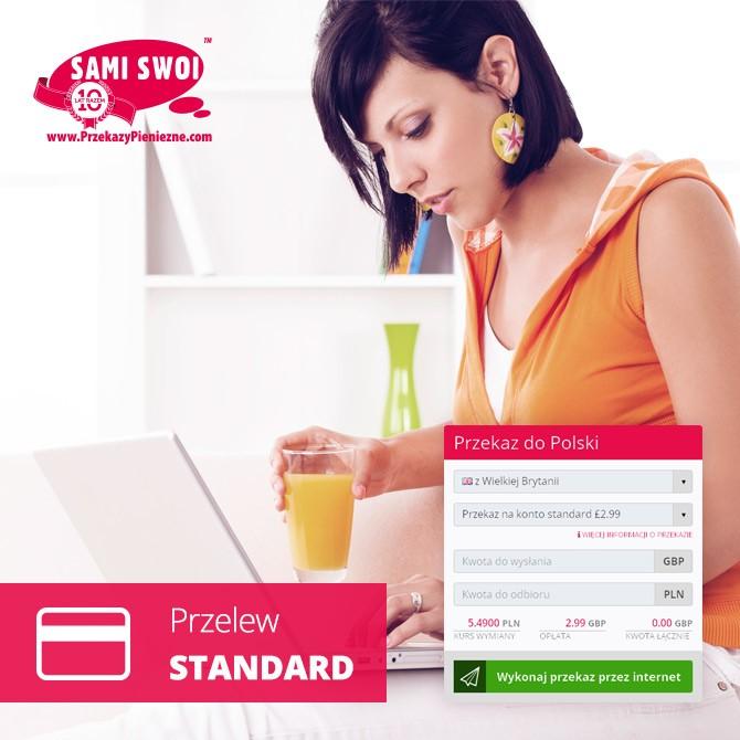 Przelew standard, na oszczędności i rachunki w sam raz