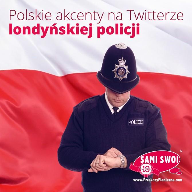 Policjanci w Hammersmith i Fulham twittują po polsku