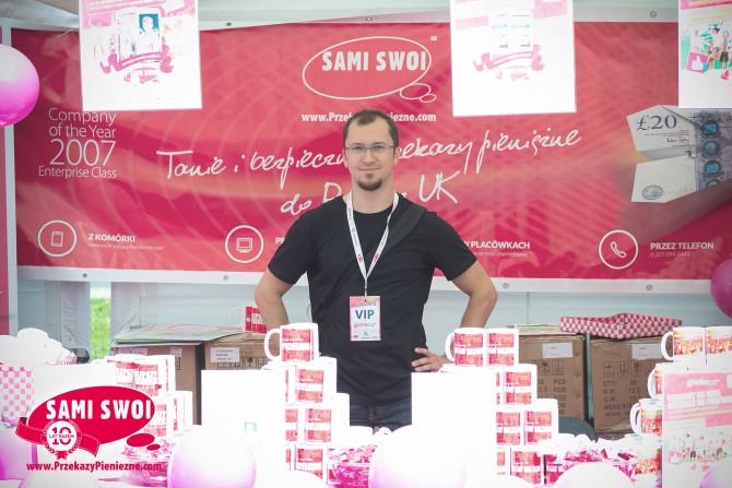 Przelewy do Polski na festiwalu Gońca