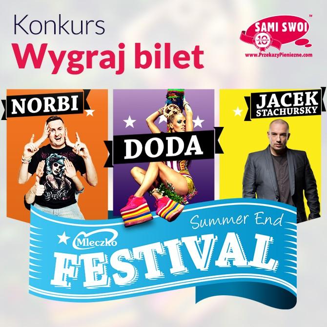 Wygraj bilet na koncert Dody, Stachurskiego i Norbiego w Londynie!