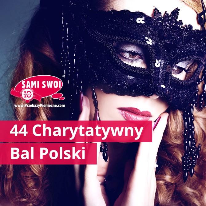 Bal Polski na emigracji - sponsor Sami Swoi Przekazy Pieniężne
