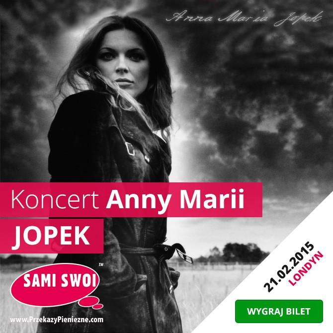 Wygraj bilety na koncert Anny Marii Jopek w Londynie!