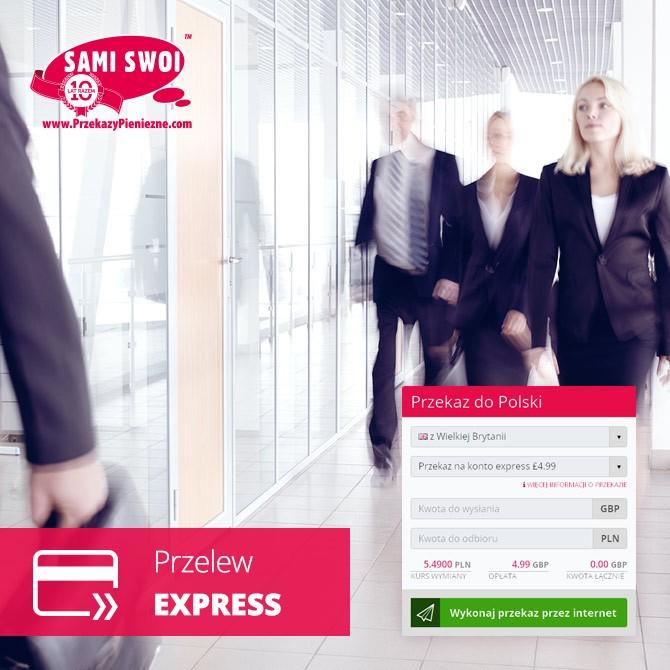 Przelew na konto Express – w jeden dzień na polskim koncie!