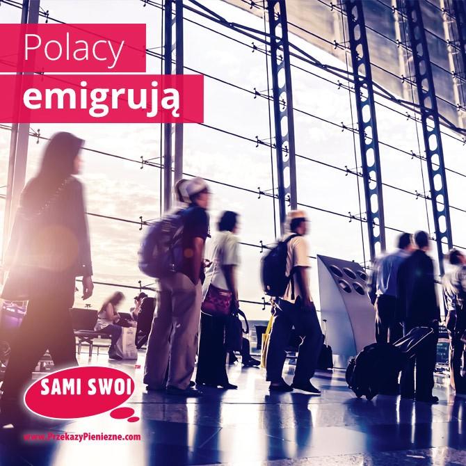 Coraz więcej Polaków za granicą?