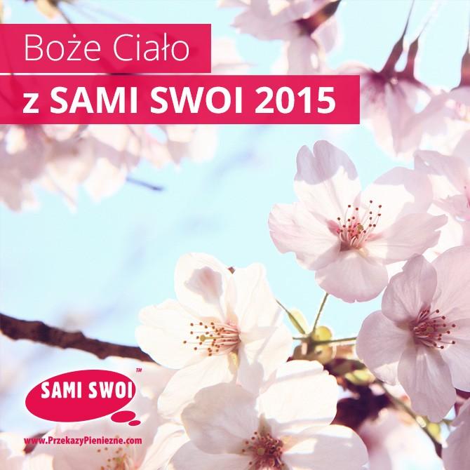 boże ciało Sami Swoi 2015