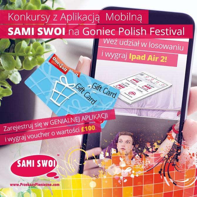 Wygrywaj nagrody z najszybszą aplikacją mobilną Sami Swoi!