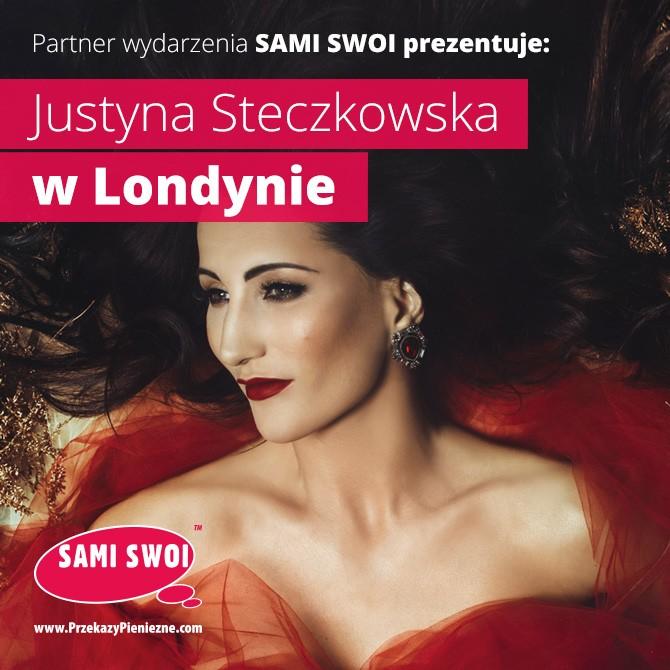 Justyna Steczkowska w Londynie