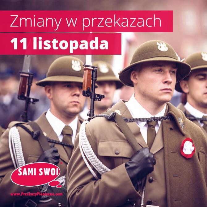 Narodowe Święto Niepodległości. Terminy przekazów.