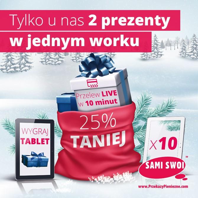 2 prezenty w jednym worku tylko z Sami Swoi