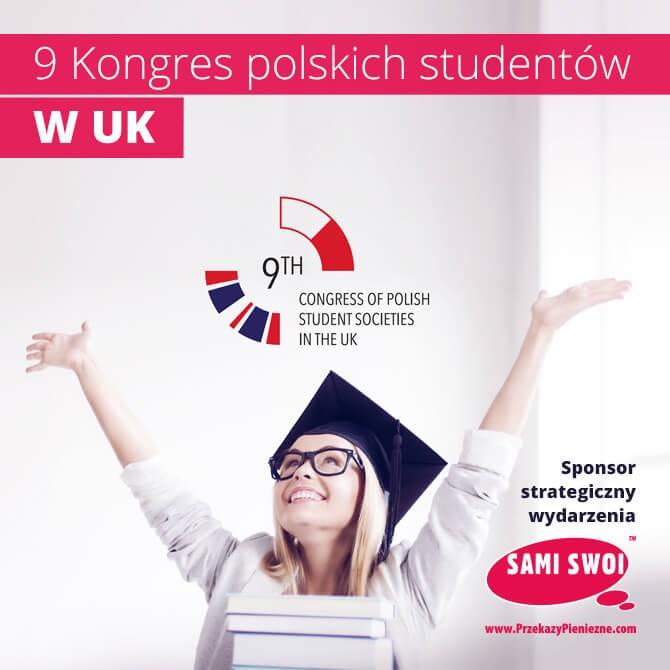 Sami Swoi sponsorem IX Kongresu Polskich Stowarzyszeń Studenckich w Wielkiej Brytanii