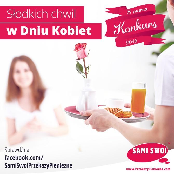 Facebookowy konkurs na Dzień Kobiet