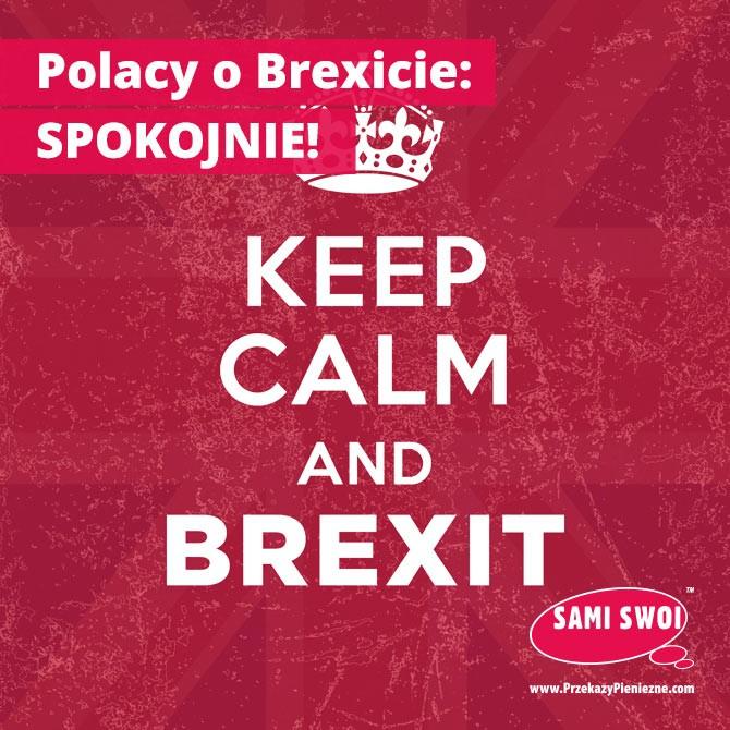 Polacy o Brexicie: spokojnie!