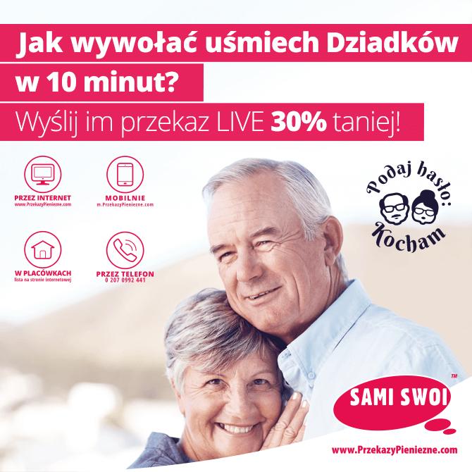 Jak wywołać uśmiech Dziadków w 10 minut?