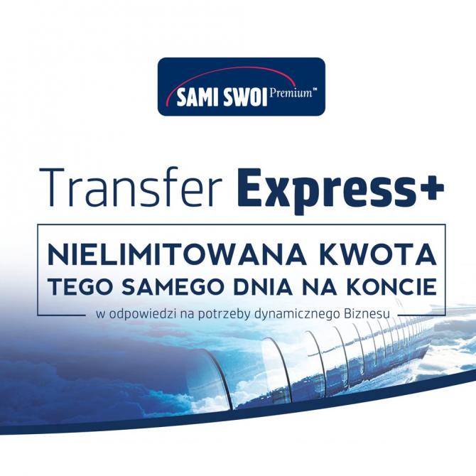 Szybki przekaz Express+ specjalnie dla biznesu!
