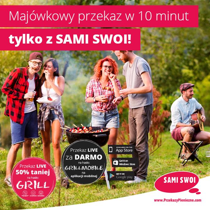 Majówkowy przekaz w 10 minut tylko z Sami Swoi!