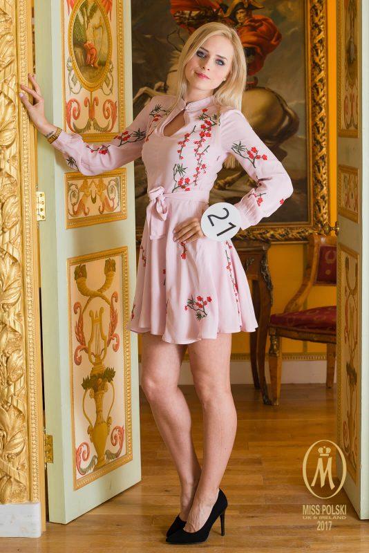 Miss Polski UK & Ireland 2017 – Paulina Główka