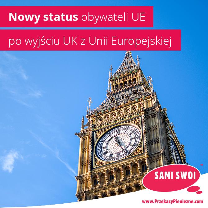 Nowy status obywateli UE po Brexicie