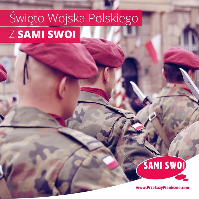Terminy przekazów w Święto Wojska Polskiego