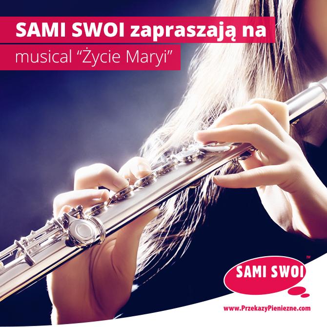 """Sami Swoi sponsorem musicalu """"Życie Maryi"""" w Londynie!"""