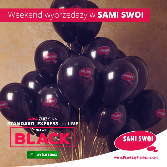 Black Friday w Sami Swoi.