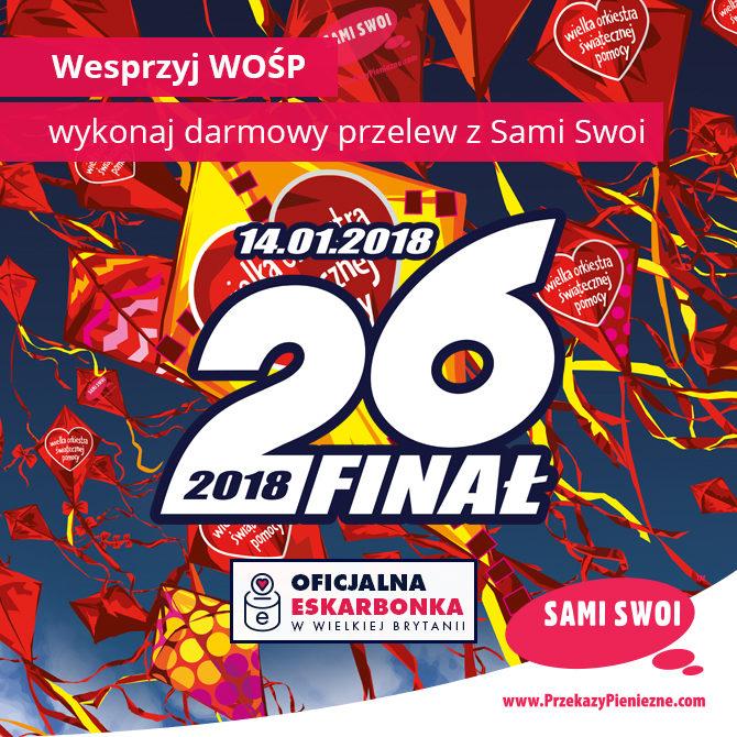 Sami Swoi i Goniec Polski wspierają WOŚP!