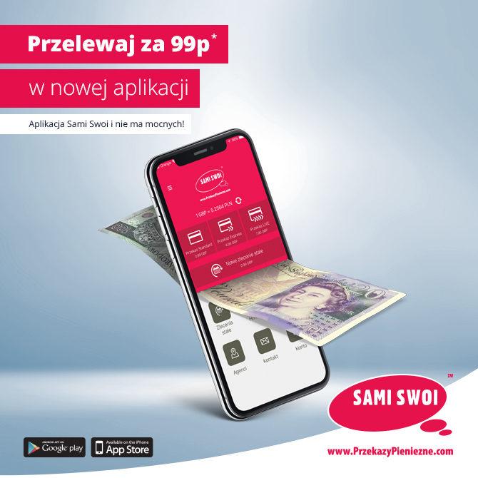 Nowa aplikacja Sami Swoi dopasowana do Ciebie!