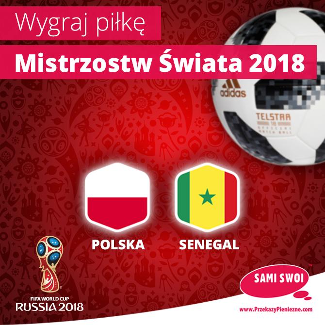 Rozdajemy oficjalne piłki Mistrzostw Świata 2018!