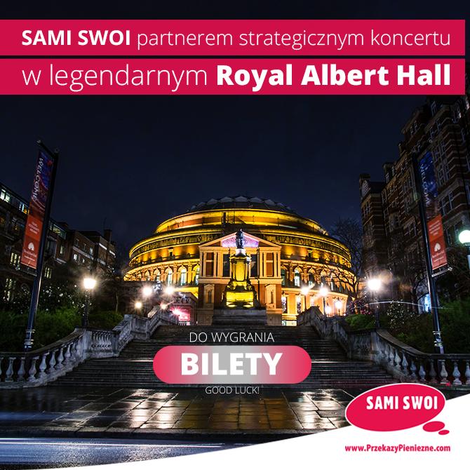 Wygraj bilety na koncert w legendarnym Royal Albert Hall