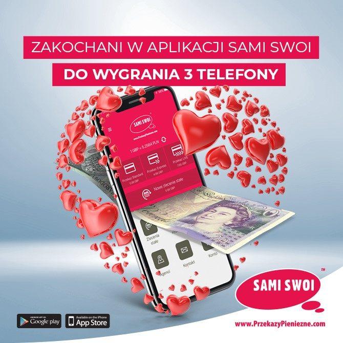 Zakochani w aplikacji Sami Swoi