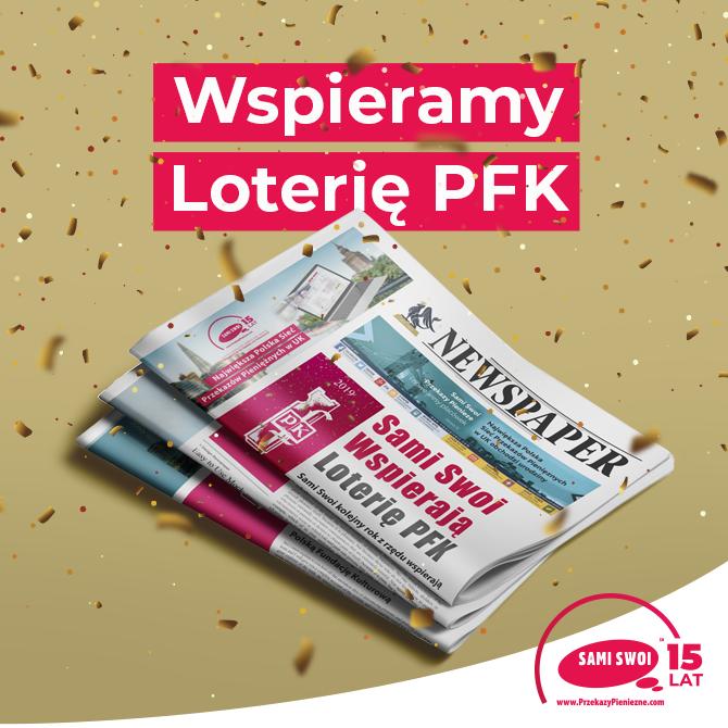 Sami Swoi wspierają XIX Loterię PFK