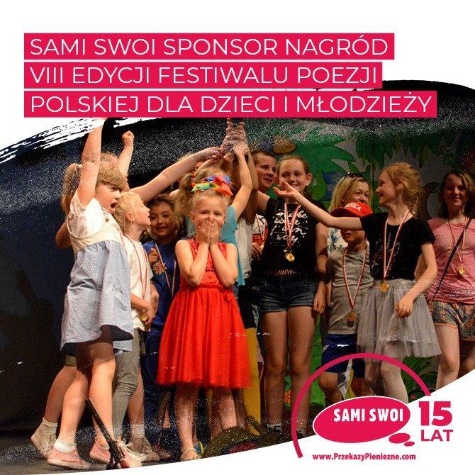 """Festiwalu Poezji dla Dzieci i Młodzieży """"Wierszowisko"""""""