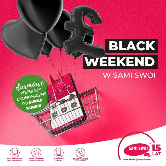 Black Weekend z Sami Swoi!