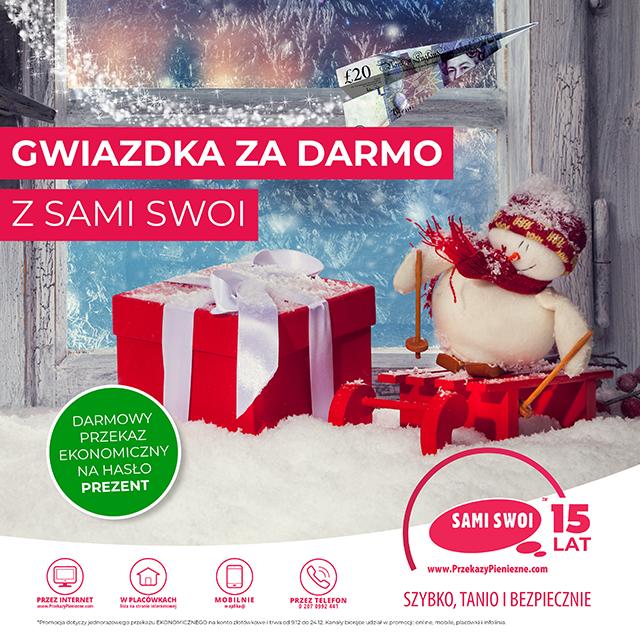 Gwiazdka 2019 za DARMO w Sami Swoi!