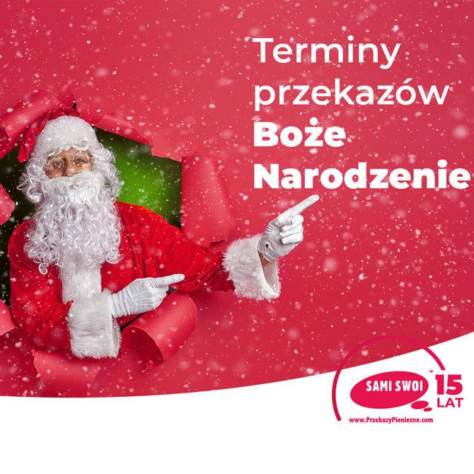 Święta i Nowy Rok z Sami Swoi. Terminy realizacji przekazów do Polski.