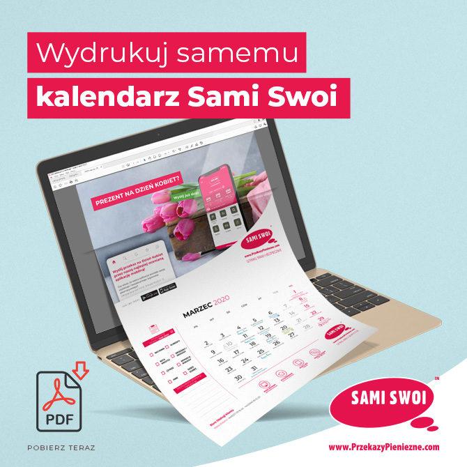 Kalendarz Sami Swoi na 2020 r. Pobierz za darmo!