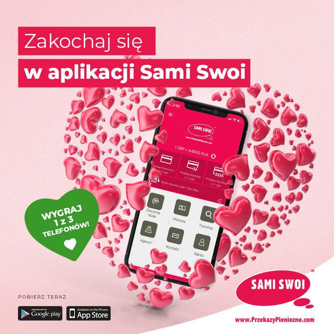 Zakochaj się w aplikacji Sami Swoi