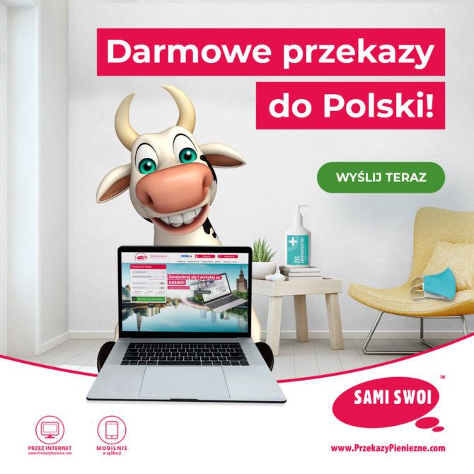 Nie zwalniamy! Darmowe przekazy do Polski w Sami Swoi wciąż w akcji
