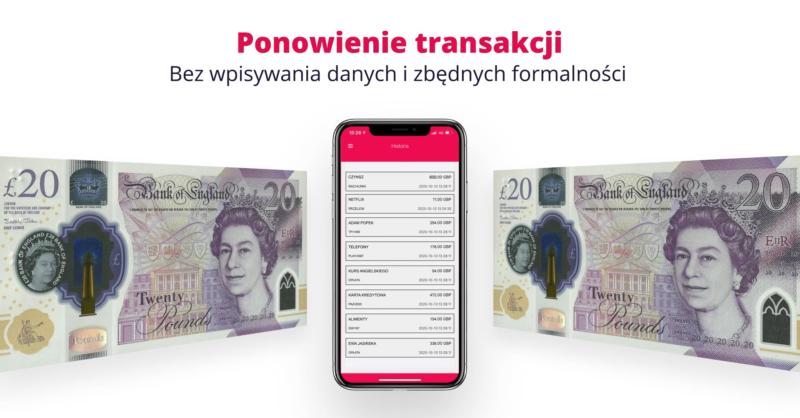 przekazy do polski aplikacja