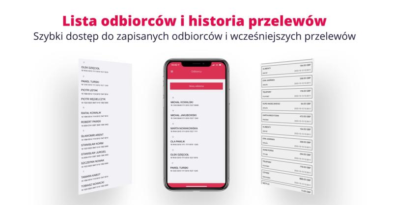 przelewy do polski aplikacja sami swoi