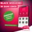 Black Weekend+ w Sami Swoi! Szybkie i darmowe przelewy do Polski.