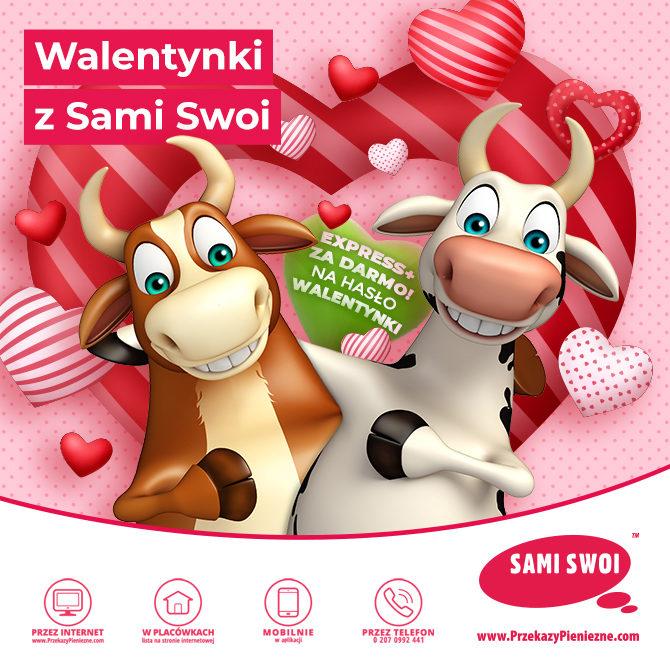 Walentynkowe przekazy w Sami Swoi